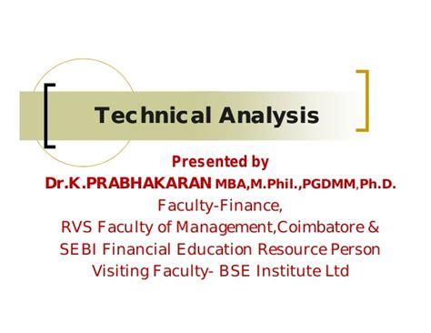 Colorado Technical Mba by Technical Analysis