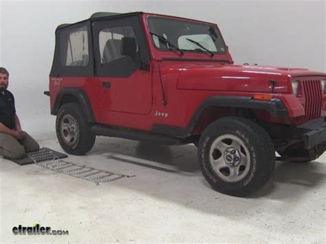 1995 Jeep Wrangler Review Glacier V Bar Snow Tire Chains With Tighteners 1
