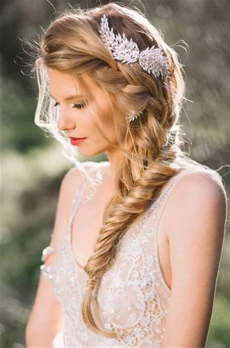 reception hairstyle and wedding style ideas