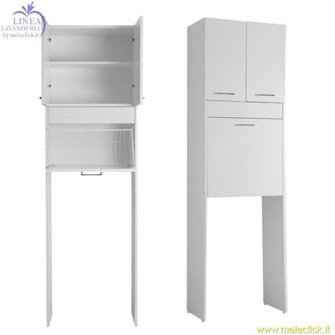 mobile sopra lavatrice mobile con alloggio lavatrice brava 1 vendita on line colavene