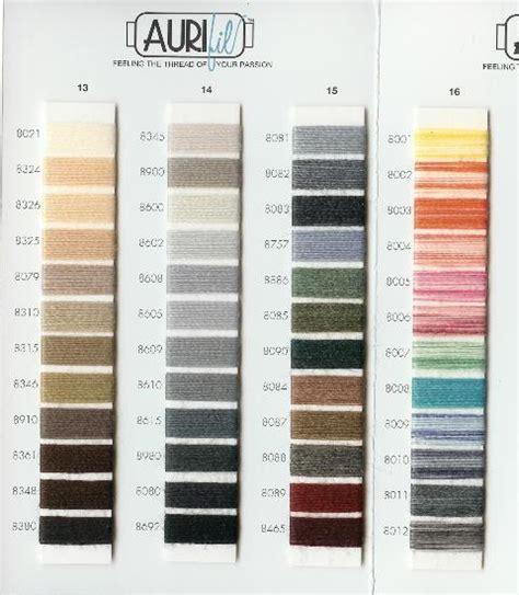 aurifil thread colors aurifil thread wool color chart