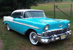 classic cars cevrolet chevy bel air 1955 1956 1957