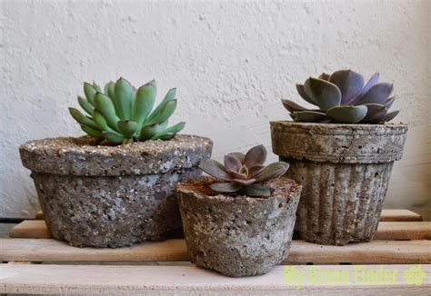 Hypertufa Planters by Green Finder Plant Vendors Create Your Own Hypertufa
