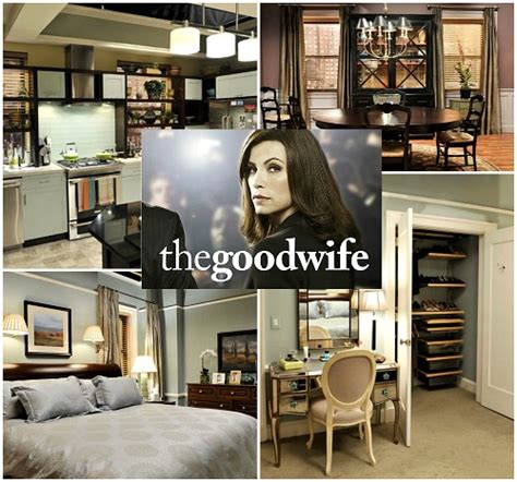 good home design shows quot the good wife quot alicia florrick s apartment in chicago