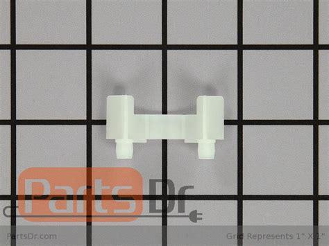 70197 1 whirlpool refrigerator door shelf retainer