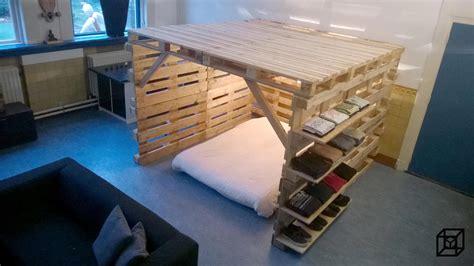 Wat Kun Je Maken Pallets by Great Pallet Bed Hut Pallet Bed Hut With Wat Kun Je Maken