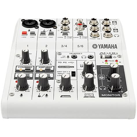 Mixer Yamaha Ag06 yamaha ag06 6 channel mixer usb interface for ios mac pc