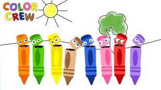 color crew coloring pages
