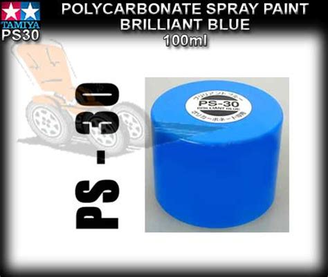 Tamiya Color For Polycarbonate Ps 12 Silver tamiya spray paint polycarbonate ps30 100ml brilliant