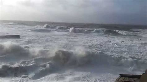 big waves boat video 6 fishing boats sink in huge storm at porthleven cornwall