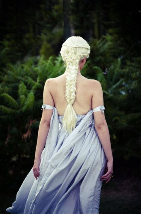 daenerys targaryen hair khaleesi hairstyles i won t be able to do pinterest