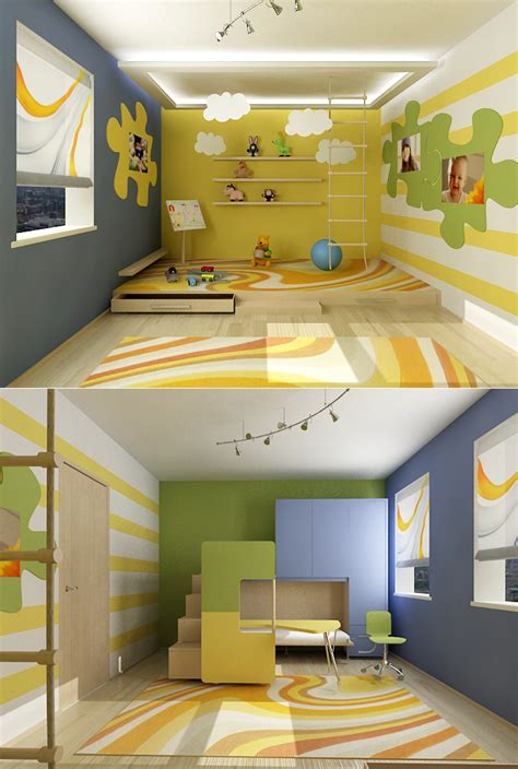45 kids room layouts and decor ideas from pentamobili digsdigs kids room design ideas