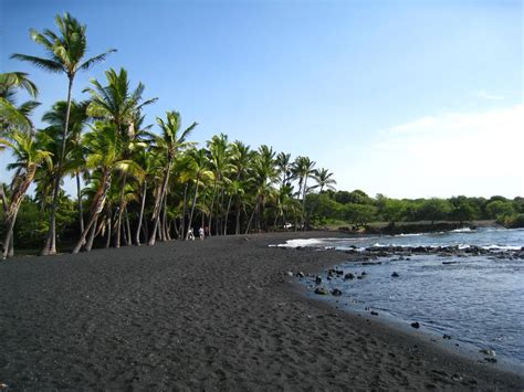 punalu u 10 black sand beaches that will blow your mind
