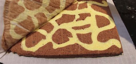 giraffe cake template wonderful diy swiss roll cake with giraffe pattern