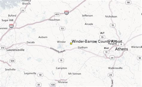 Barrow County Records Winder Barrow County Airport Weather Station Record Historical Weather For Winder