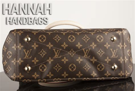 louis vuitton monogram pallas havane hannah handbags