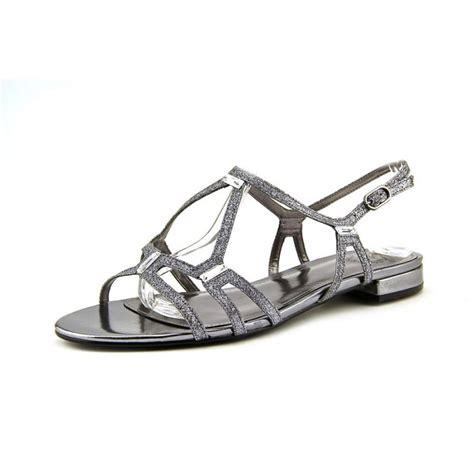 silver sandals womens i miller i miller allena silver sandals sandals