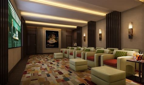 villa home theater interior design