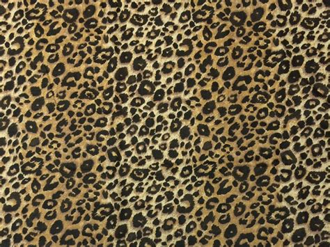 designer animal print upholstery fabric ballard designs leo brown leopard animal print 100 linen