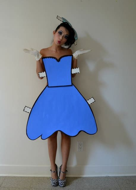 How To Make A Paper Doll Costume - best 25 paper doll costume ideas on einfaches