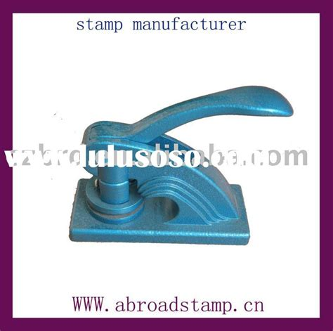 rubber embossing sts custom embossing seal st