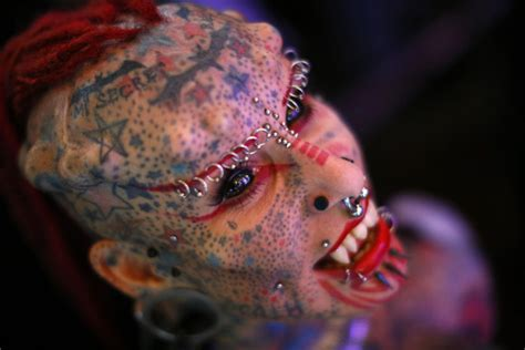 extreme body modifications piercings tattoos and
