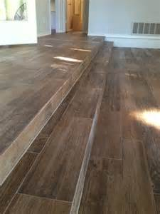 wood look porcelain tile steps yelp