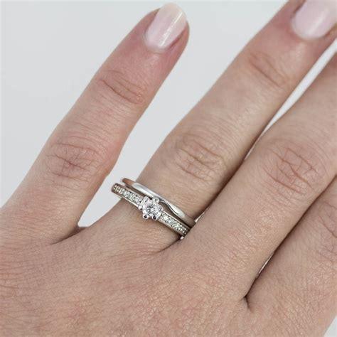 Verlobungsring Mit Ehering by Klenota Diamant Verlobungs Und Ehering Set Aus Wei 223 Gold
