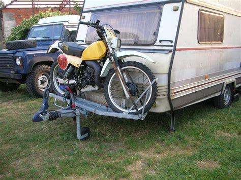 Wohnwagen Und Motorrad Transport by Erfahrungen Mit Motorrad Auf Anh 228 Ngerdeichsel Bei