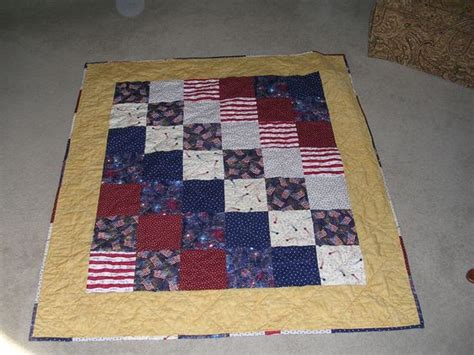 a patriotic quilt for a veteran sewing and quilting