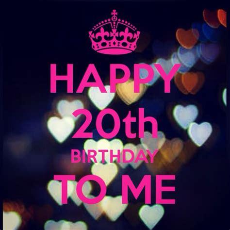 Happy Birthday 20 Years Quotes Happy 20th Birthday Birthday Pinterest Birthdays