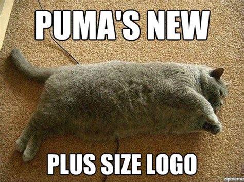 Puma Meme - puma s new plus size logo weknowmemes