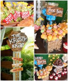 House Decorating Games For Adults by Spongebob Squarepants Birthday Party Planning Ideas