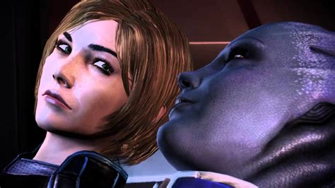 mass effect 3 romance scene liara youtube mass effect 3 femshep liara romance scene youtube