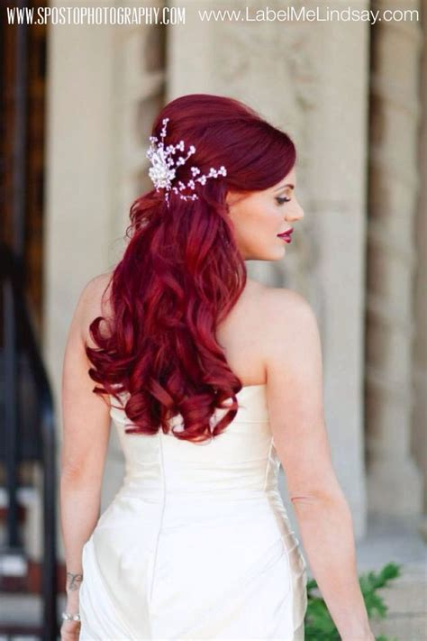 bridal hairstyles for red hair pin by lindsay fleischmann on mike lindsay v s wedding