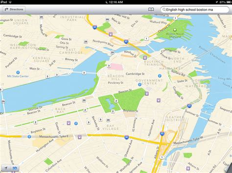 on the map review refined ios 6 highlighted by stunning maps