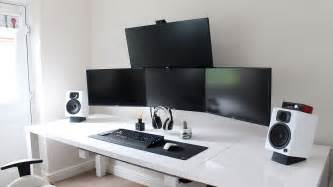 ultimate gamer setup ultimate cable management guide how to get a super clean