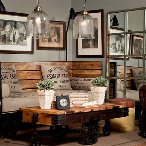117 best rustic industrial decor images on pinterest diy rustic industrial seating industrial chic room