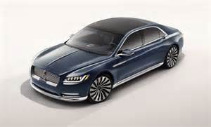 new lincoln concept car new lincoln continental coming in 2016 official