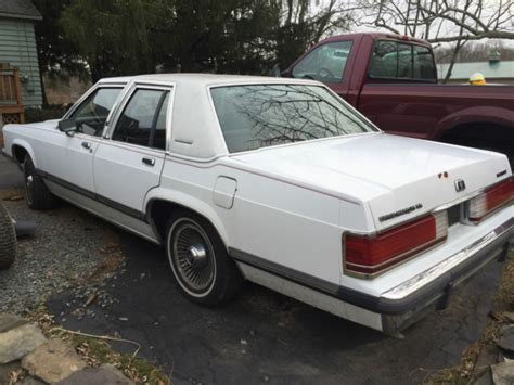 how to sell used cars 1989 mercury grand marquis electronic valve timing 1989 mercury grand marquis gs sedan 4 door 5 0l