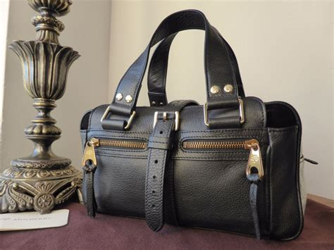 It Bags Mulberry Mabel Madness by Mulberry Small Mabel In Black Refined Grain Leather Sold