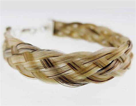 Handmade Hair Bracelets - gemosi 5 braid hair bracelet gemosi