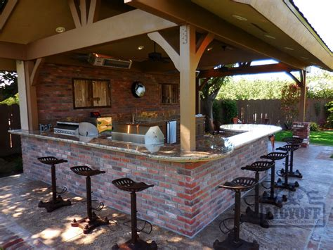 outdoor kitchens lidyoff landscaping development