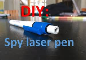 gadgets for easy diy spy laser pen easy steps hd youtube