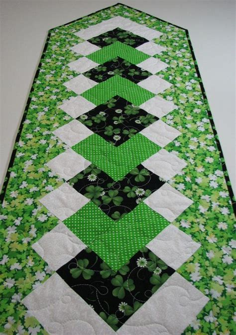 s day table runner quilted table runners table runners and st s day