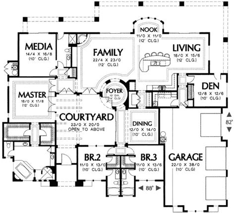 mediterranean home plans with courtyards plan 16287md magnificent mediterranean house plan