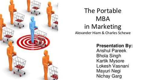 Profiles In Marketing After Mba by The Portable Mba In Marketing