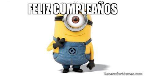 imagenes de minions que digan feliz cumpleaños minions feliz cumplea 241 os imagui