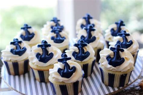 chagne and cupcakes bridal shower theme 24 chic nautical themed bridal shower ideas weddingomania