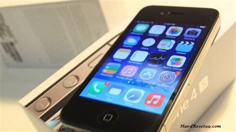 factory reset the iphone 4s apple iphone 4s 16gb hard reset factory reset password